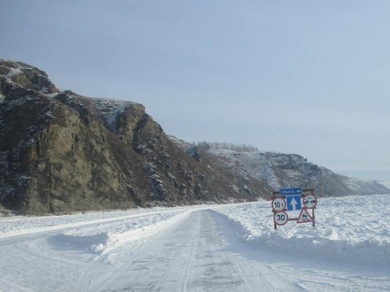 Власти открыли движение по зимнику между Сретенском и Верхними Куларками