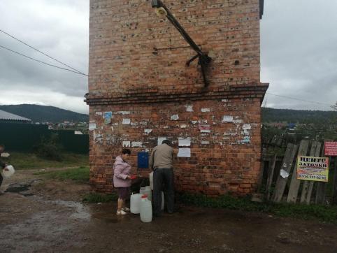 Электронные замки появились на водокачках Читы