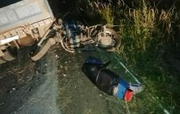 Мотоциклист погиб после столкновения с грузовиком в Забайкалье