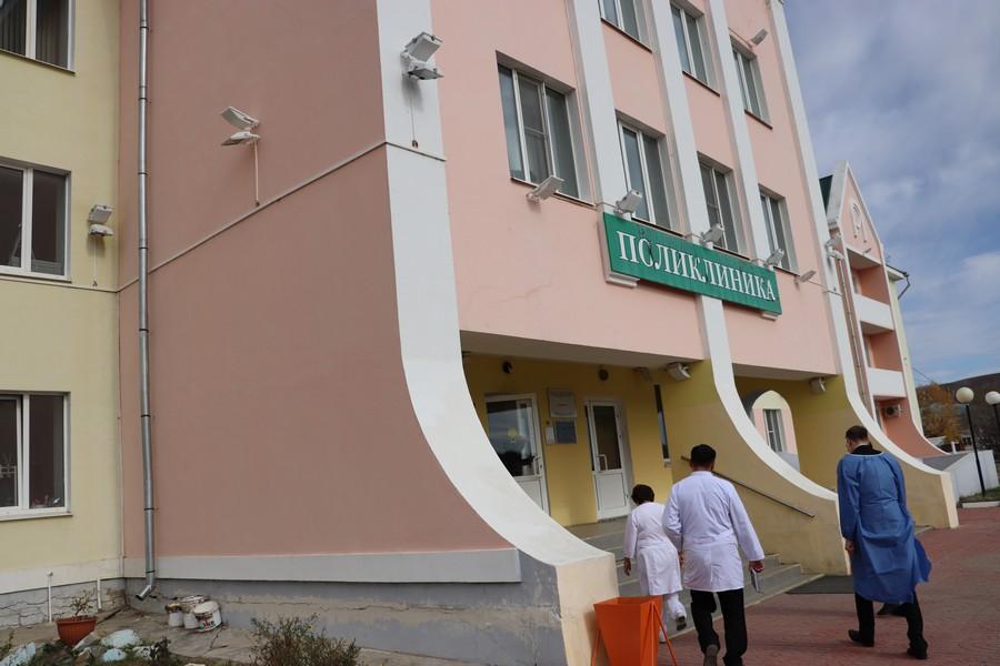 В Агинской окружной больнице открыли отделение на 30 мест для больных COVID-19