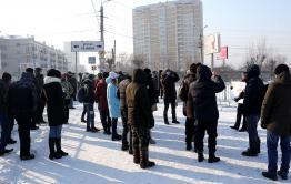 Навальная Чита, часть 2: Митинг полицейских и журналистов