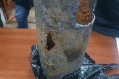 Коротко о состоянии коммунальных систем в Забайкалье. Это кусок теплотрассы из села Маккавеево. 27 января там произошел серьезный порыв