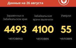Новый летальный случай от коронавируса зарегистрировали в Забайкалье