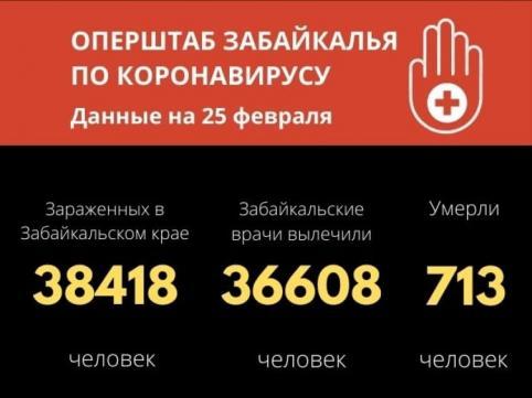 Меньше ста человек заразились COVID-19 в Забайкалье за последние сутки