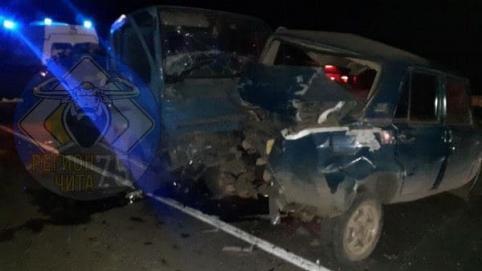 Водитель «Жигулей» погиб в ДТП с грузовиком в Читинском районе