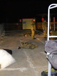 Расстрелянные солдаты в Горном. 25 октября