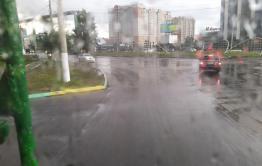 Центр Читы остался без света после ливня. Дома обесточены, троллейбусы остановились
