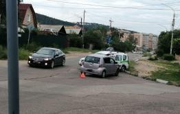 Машина УФСИН попала в ДТП в Чите