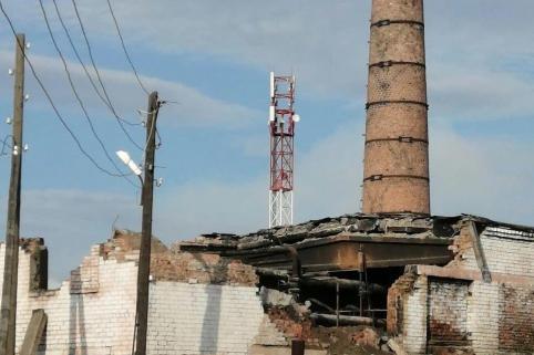 В Читинском районе обрушилась крыша котельной