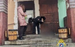 В центре Читы обнаружен труп мужчины с ножевыми ранениями