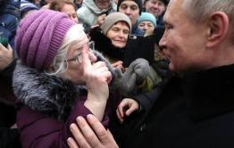Подарить пенсионерам веревку и кусок мыла просит Путина жительница Борзи