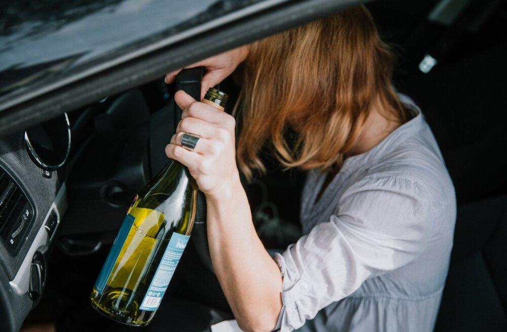 В Нерчинском районе перевернулась пьяная женщина без прав
