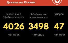 11 новых случаев COVID-19 выявили за сутки в Забайкалье
