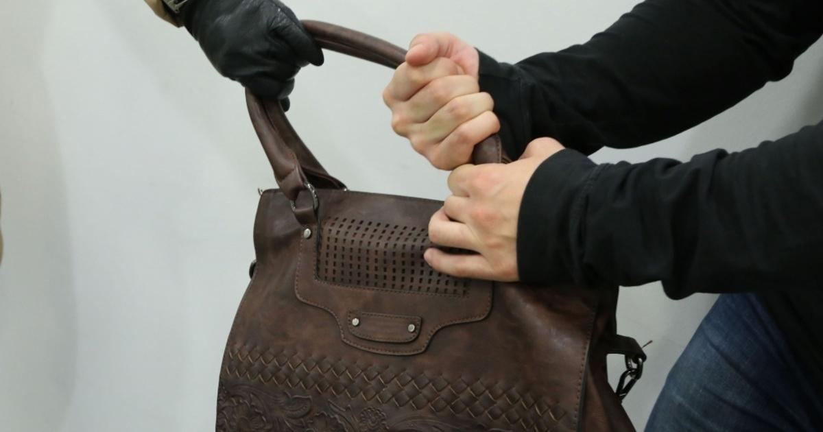 В Чите грабитель вырвал сумку из рук 51-летней женщины