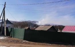 В Атамановке снова разгорелся пожар в лесу