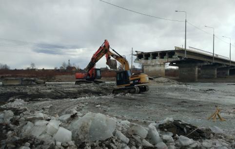 Реконструкцию Каштакского моста начали в Чите