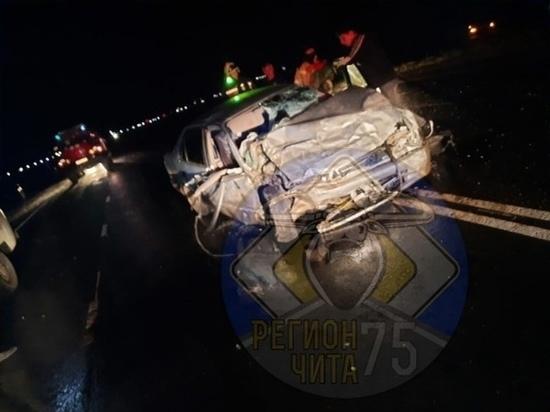 Три человека погибли в ДТП на трассе в Нерчинском районе