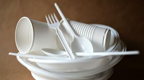 Правительство России планирует запретить одноразовую посуду