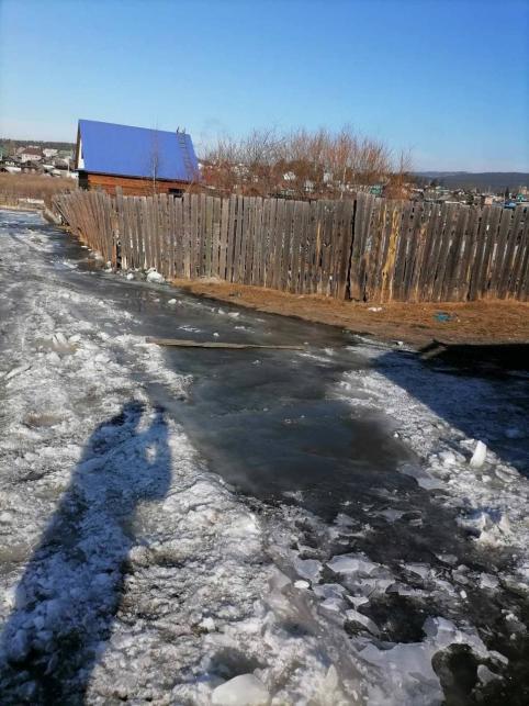Уровень грунтовых вод снизился в подпольях жителей Песчанки