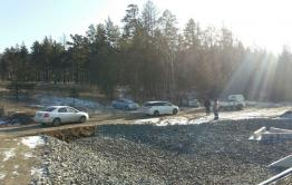 Забайкальские дорожники отсыпали объезд места аварии, где погибли 7 человек (видео)