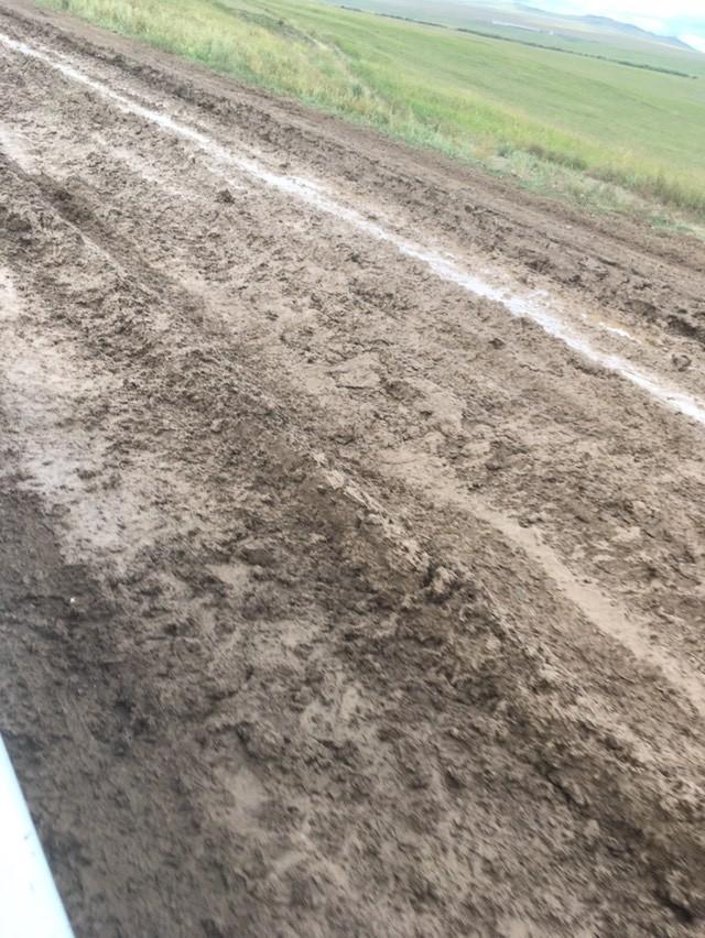 Жители села Боржигантай жалуются на плохую дорогу до райцентра