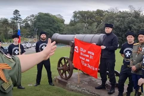 Потомки забайкальских казаков отметили День Победы в Австралии (видео)
