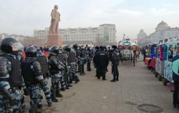 Ярмарка пройдет на площади Революции в Чите в воскресенье. Оппозиция планировала провести там пикет в поддержку Навального.