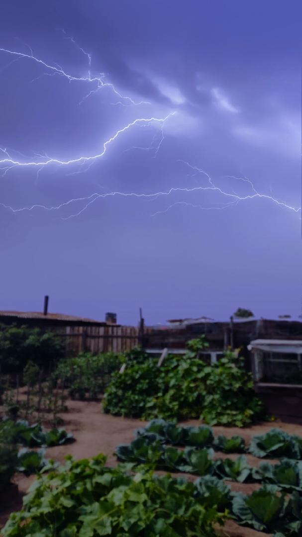 Молния в селе Казаново Шилкинского района. Фото: «Регион-75». 28 июля