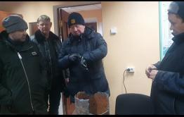 Авария на теплотрассе в селе Маккавеево будет устранена в течение дня