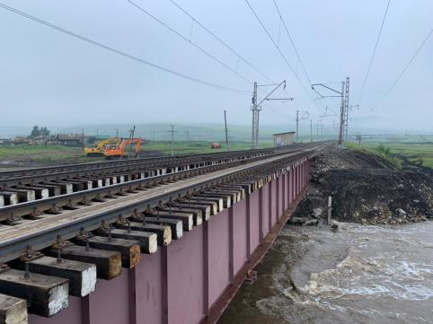 Движение поездов по Транссибу полностью восстановлено спустя 4 дня