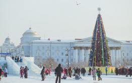 Небольшое потепление ожидается в Чите с 25 декабря