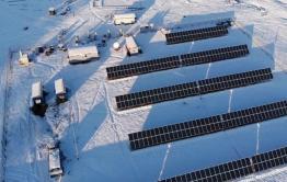 Солнечная электростанция спасла Мензу и Укыр от отсутствия электроэнергии