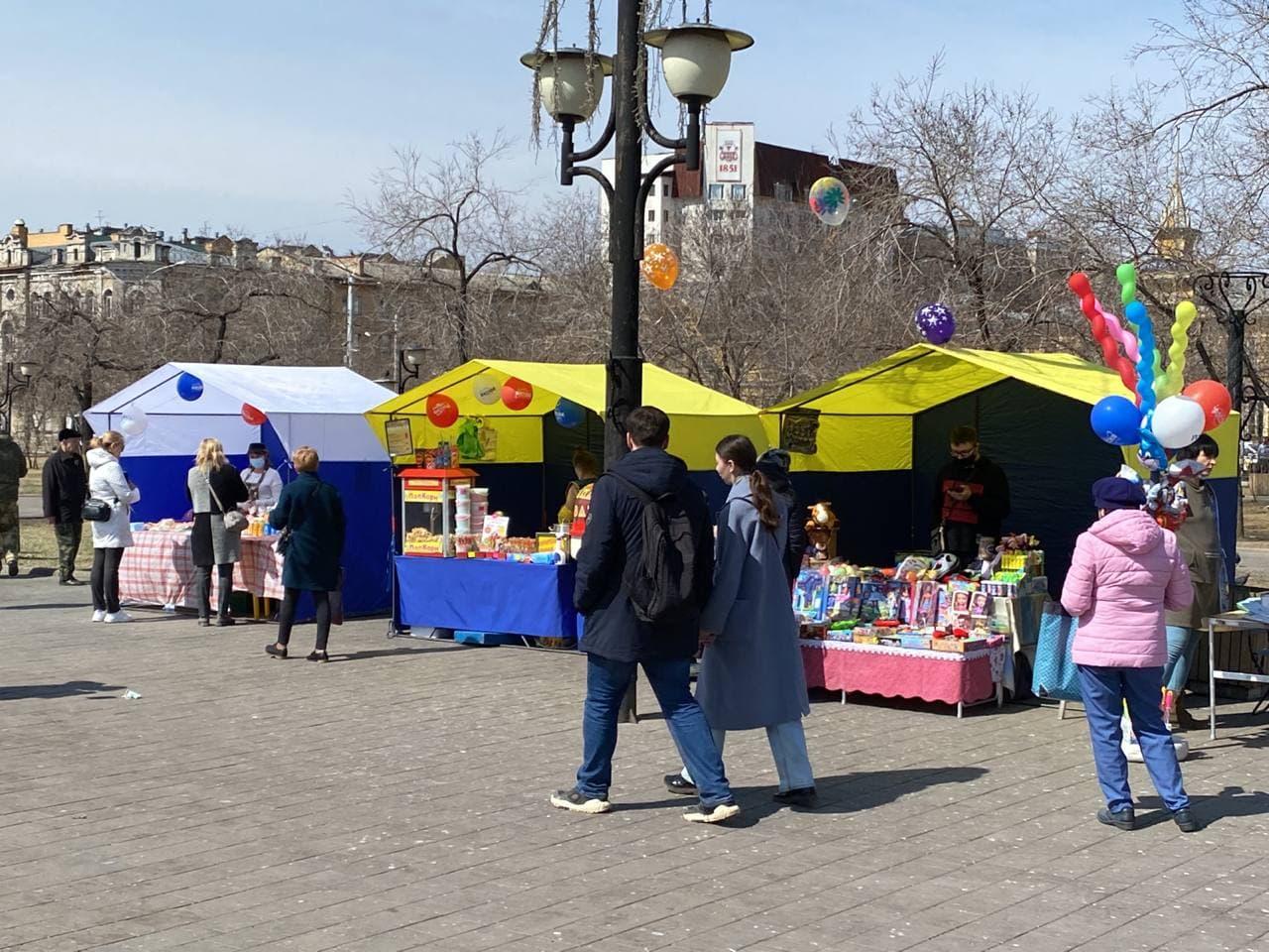Концерт, прививка и спорт: анонс событий на центральной площади