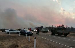 Пришедший из Бурятии лесной пожар направляется в сторону Могзона — Гурулев