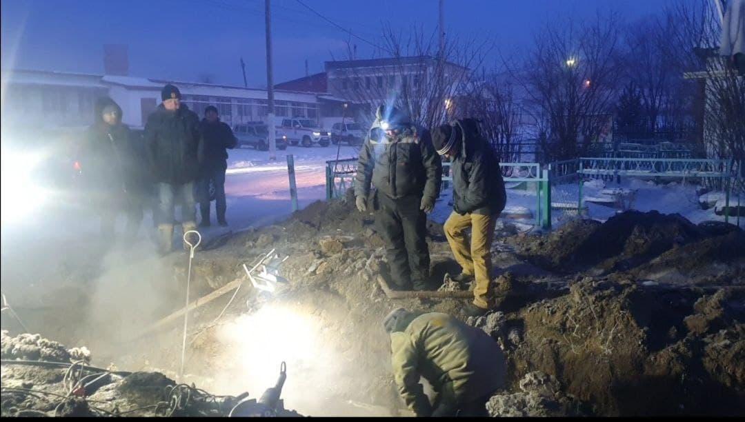 Прокуратура начала проверку из-за порыва теплотрассы в селе Забайкалья