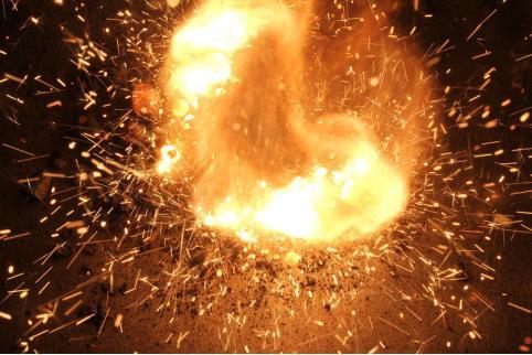 Пятеро военнослужащих пострадало при возгорании пороха в воинской части в Забайкалье