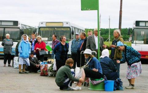 После публикации «Вечорки» дачников КСК и ГРЭС стали довозить до конечной