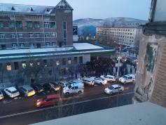 Пока читинцы жалуются на жизнь, гастарбайтеры из Средней Азии превратили Читу в Мекку. Фото со страницы Юрия Скоробогатова в Fb. 11 января 2021 год.