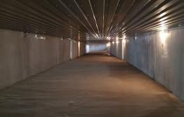 В подземном тоннеле жд-вокзала в Чите снова перебили все лампочки