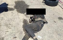 Подросток погиб во время пожара в гаражном кооперативе в Чите