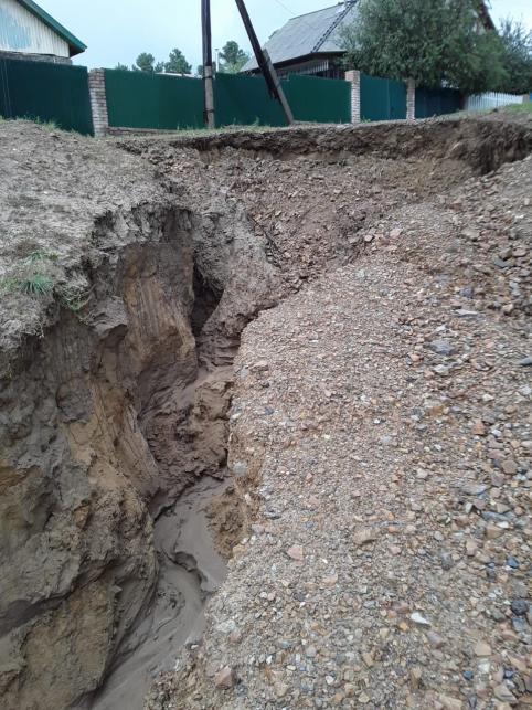 Жители забайкальского села боятся, что их дома смоет водой (видео)