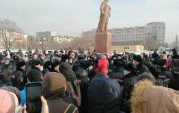 Оппозиционеров оштрафовали на 70 тыс. рублей после митинга в Чите