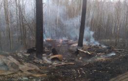 Пожар больше не угрожает Угдану — минприроды