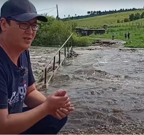 В Забайкалье пришла третья волна наводнения