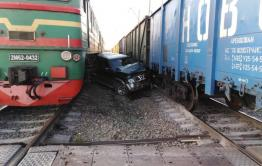 Забайкальцев оштрафовали за ДТП на ж/д переездах