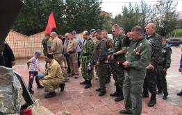 Забайкальские ветераны боевых действий возложили цветы к памятнику (фото)