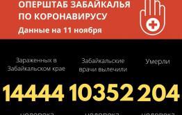255 человек заразились коронавирусом в Забайкалье за сутки