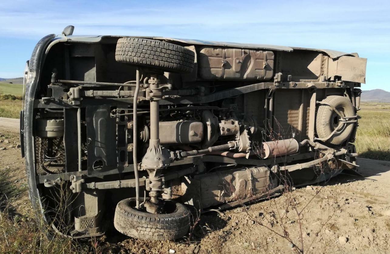 В Забайкалье пассажир УАЗа погиб в ДТП