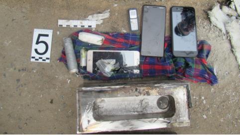 В исправительную колонию в Забайкалье пытались пронести наркотики и телефоны в кузнечном молоте