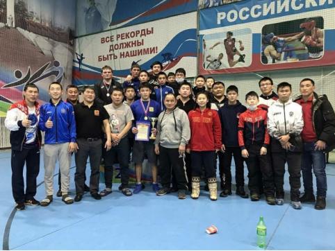 Восемь медалей завоевали борцы Забайкалья в Благовещенске